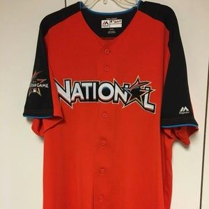 Size 52 2017 MLB National League all star jersey